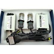 Kit bi-xenon 55W Slim Premium H4 12000k