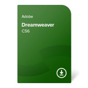 Adobe Dreamweaver CS6 ENG ESD (ADB-DREAM-CS6-EN) elektronički certifikat
