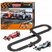 Carrera GO Set med bilbana och bilar Champions Lap 1:43 20062428