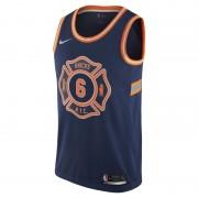 Kristaps Porzingis City Edition Swingman Jersey (New York Knicks) Nike NBA-Trikot für Herren - Blau