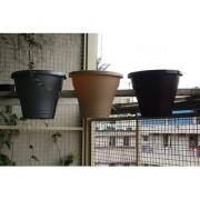 Minerva Naturals - Balcony Railing Planter three Color (Set of 3 pot)