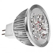 GU5.3 (MR16) LED-spotlampen MR16 4 Krachtige LED 270 lm Warm wit K DC 12 V