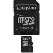 Kingston Trans Flash 16 Gb Scheda Di Memoria 16 Gb Micro Sd / Sdhc Classe 4 Trans Flash 16 Gb