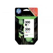 HP Inkcartridge Hp Cn 637 Ee Nr.300 Combipack Zwart+Kleur