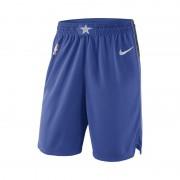Dallas Mavericks Nike Icon Edition Swingman NBA-Shorts für Herren - Blau