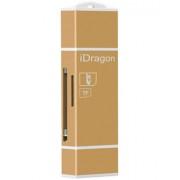 Card Reader iUni Lightning + MicroUSB OTG, Memorie Externa pentru dispozitive iOS si Android, Gold
