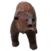 NF&E Simulation Brown Bear Model Figure Kids Toy Story Telling & Teaching Props