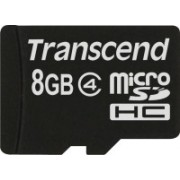 Transcend 8 GB MicroSD Card Class 4 Memory Card