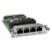 Cisco 4-Port 3rd Gen Multiflex Trunk Voice/WAN Int. Card - T1/E1