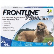 Frontline Plus 3pk Dogs 23-44 lbs by MERIAL