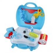 Generic Hospital Medical Kit Preschool Kids Doctor Nurse Pretend Role Play Toys Blue