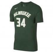 Giannis Antetokounmpo Milwaukee Bucks Nike Dri-FIT NBA-T-Shirt für Herren - Grün