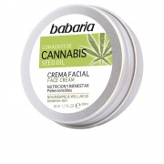 Babaria CANNABIS crema facial nutrición y bienestar 50 ml
