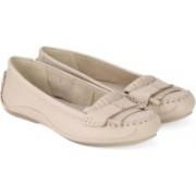 Clarks Natala Pearl Nude Nubuck Boat Shoes(Natural)