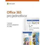 Microsoft Office 365 pro jednotlivce CZ, předplatné na 1 rok- krabicová verze