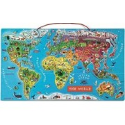 Puzzle Janod Magnetic World Map