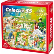 Joc de societate Games Travel Colectie 35 jocuri Domi Party and Gifts
