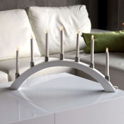 LED candle arch with 7 lights