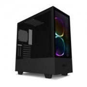 Кутия NZXT H510i Elite Smart Matte Mid-Tower, Black, NZXT-CASE-H510E-B1