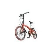 Bicicleta Dobravel Vermelha Pliage Twodogs