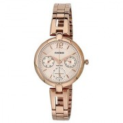 Casio Enticer Analog Rose Gold Dial Womens Watch - LTP-E401PG-9AVDF(A975)