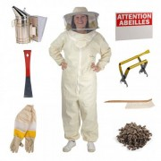 Lubéron Apiculture Kit Rucher Expert - Gants - 7 , Vêtements - XL