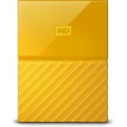 WD My Passport 1 TB Wired External Hard Disk Drive(Yellow)