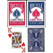 Bicycle 88 Rider Back műanyag bevonatú kártya JUMBO FACE