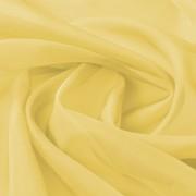 vidaXL Воал, плат, 1,45 x 20 м, жълт