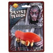 Geen Horror monster gebit/neptanden Halloween accessoire