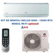 Aer conditionat Gree Lomo GWH09QB-K3DNB8C Inverter 9000 BTU Plus 1 an + 129 Lei