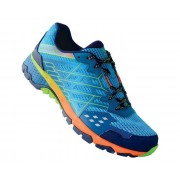 Men's Razor II Shock Absorbing Trail Shoes Atlantic Blue Jasmine Green