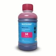 Multilaser Refil de tinta para impressoras EPSON 250ml Magenta Multilaser - RF015 RF015