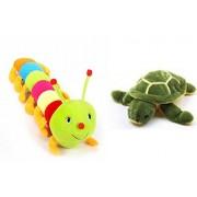 Deals India turtle (25 Cm) and Caterpillar 55 cm (set of 2)