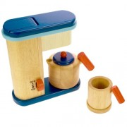 Santoys Wooden Coffee Maker - Play Kitchen Accessories