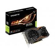 Gigabyte Grafikkort Nvidia GeForce GTX1050 Ti G1 Gaming 4 GB GDDR5 PCIe x16 HDMI, DVI, DisplayPort