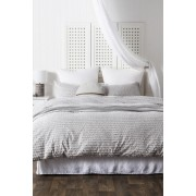 Lexis Duvet Cover Set - Light Grey