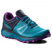 Обувки SALOMON - Trailster Gtx W GORE-TEX 404885 26 W0 Deep Lagoon/Navy Blazer/Purple Magic
