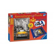 Ravensburger puzzle new york taxi, 1000 piese + suport pt rulat