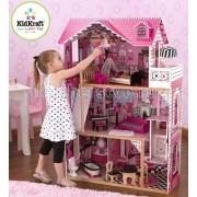 KidKraft Кукольный домик Амелия с мебелью 14 элементов