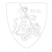 Cykelhjälm för barn ABUS SMILEY - Sharky-Blå - S