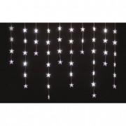 LED-es csillag fényfüggöny beltéri 1,35m