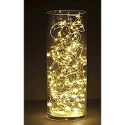 118 Inch Copper String Battery Powered Portable Golden Star LED light for party/diwali/festival/birthday/Home Decor
