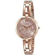 Casio Enticer Analog Rose Gold Dial Womens Watch-LTP-E401PG-4AVDF (A1289)