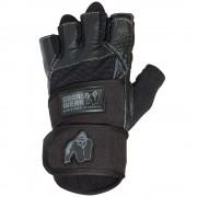 Gorilla Wear Dallas Wrist Wrap Gloves - Black - XXL
