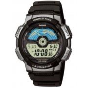 Ceas barbatesc Casio AE-1100W-1AVEF Collection Cronograf 10 ATM 43 mm