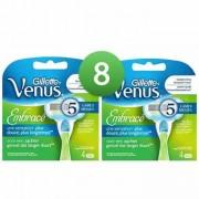 Gillette Combi Venus Embrace 8 mesjes 2x4