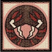 Mozaic decorativ ceramica horoscop RAC Domenech