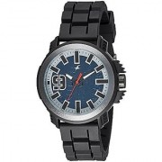 Fastrack Analog Blue Round Watch -38015PP02