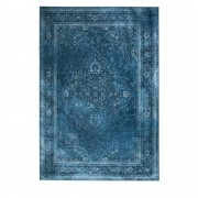 Dutchbone Rugged - Tapis de salon iranien bleu - Couleur - Bleu, Dimensions - 170x240 cm